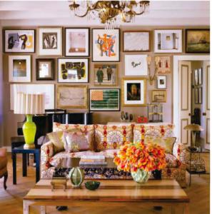 Kristen Buckingham livingroom